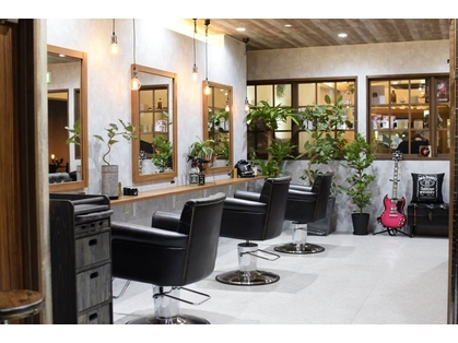 CAFE and HAIR SALON reverb
